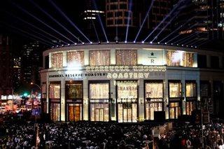 Perk up, Shanghai: Crowds throng world's biggest Starbucks