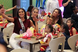 Miss Universe reaches out to Filipino orphans
