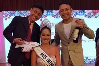 Another crown for PH: Pinay wins Mrs. International 2017