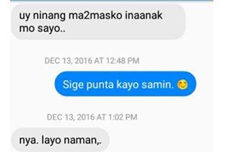 'Hindi po ako bangko': Post ng ninang sa namamaskong kumare, trending