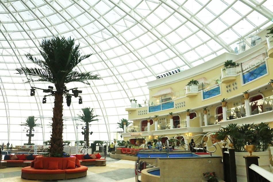 Look Okada Opens Biggest Indoor Beach And Night Club In