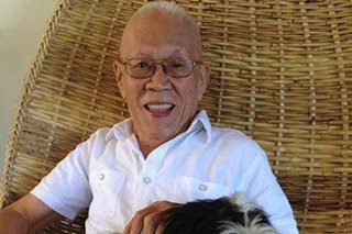Journalist Rolly Espina dies at 84