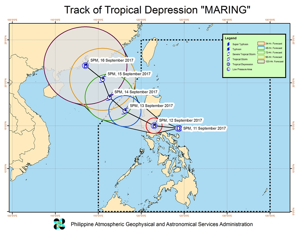 Four dead after tropical depression Maring brings floods to Luzon