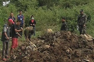 Cops find mass graves allegedly used by Parojinogs