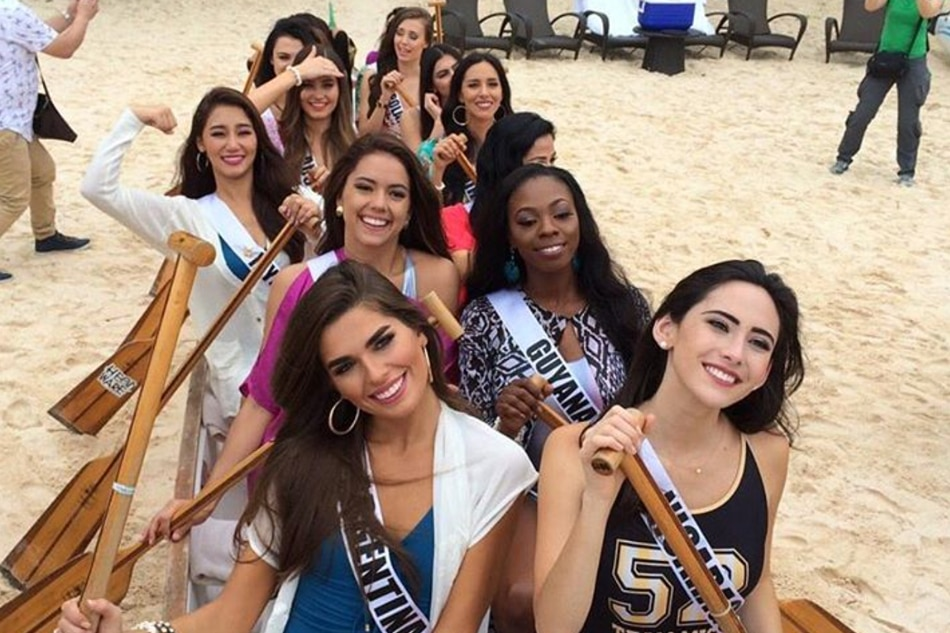 IN PHOTOS: Miss Universe candidates spend busy weekend