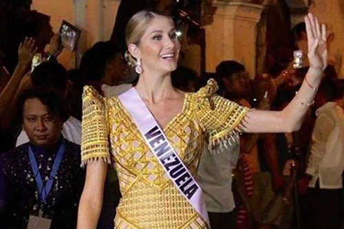 LOOK: Miss Venezuela reacts to early Miss Universe exit