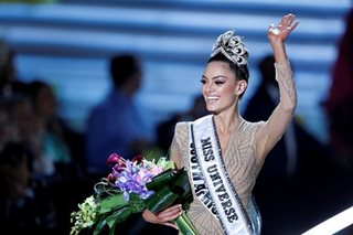 South Africa's Demi-Leigh Nel-Peters wins Miss Universe 2017