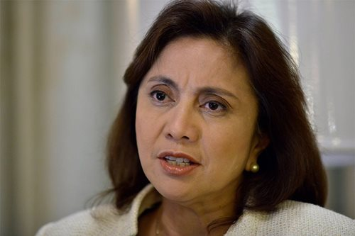 Leni hits fake news, lauds Catholic Church's stand vs EJK