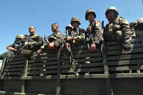 11 soldiers hurt in clash with Abu Sayyaf in Sulu