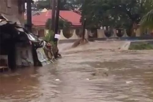 Dumaguete village evacuated after river overflows