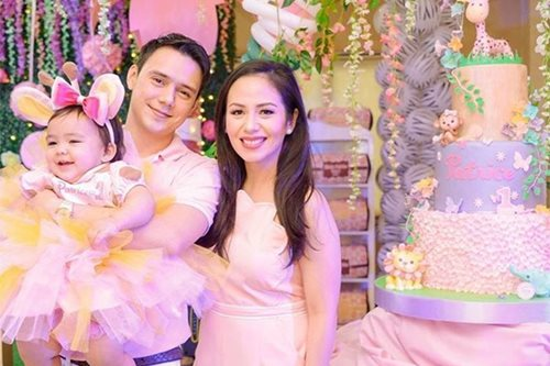 LOOK: Patrick Garcia's youngest child turns 1