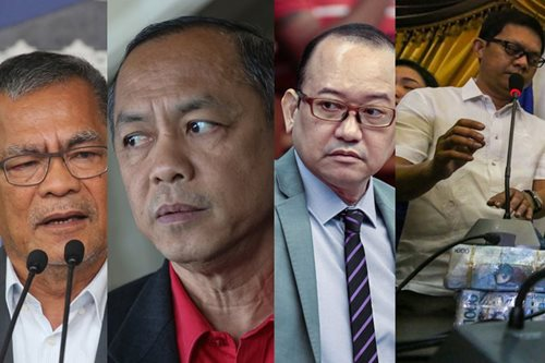 The firing line: The President's men sacked over corruption allegations