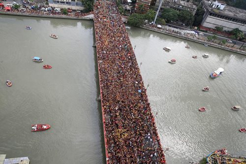 More than a million devotees join Black Nazarene procession