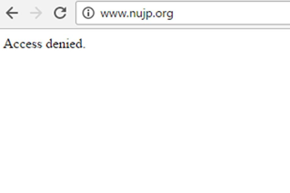 'Enemies of free speech' behind cyber attack: NUJP 1