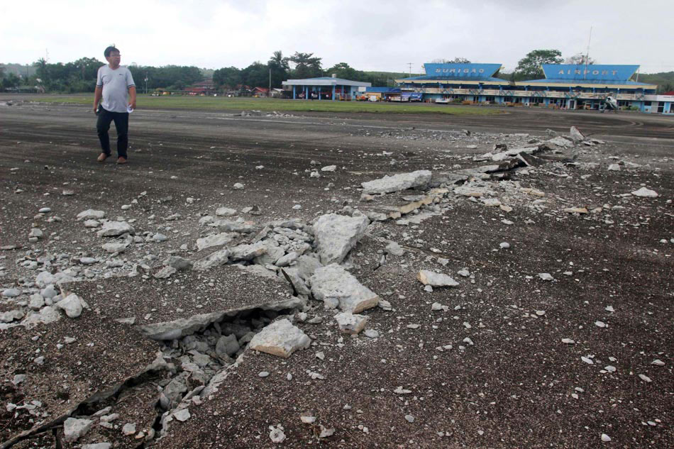 LOOK: Scenes of devastation in Surigao in aftermath of earthquake