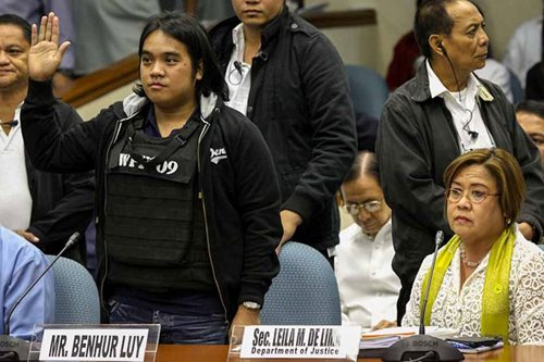 SC vs SolGen on Napoles case: Luy 'actually deprived of liberty'