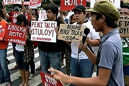 LFS, nagprotesta kontra all-out war laban sa CPP-NPA
