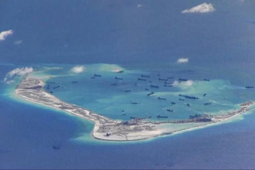 China says U.S. warship violated its South China Sea sovereignty