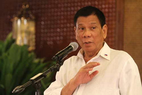 Don't use goons, Duterte warns candidates