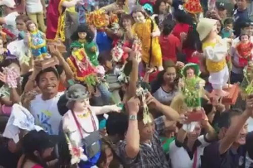 Thousands celebrate Sto. Niño feast in Tondo
