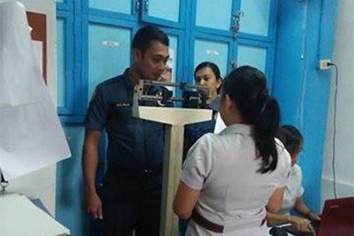 Mga pulis sa Laguna, nagdaos ng 'biggest weight loser, gainer' contest