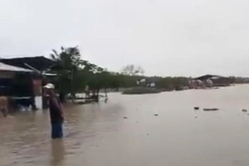 WATCH: Water rises in Butuanon River