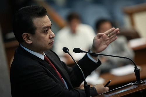 Trillanes targets 'Davao Group' in shabu shipment probe