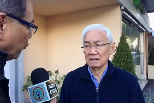 Jalandoni cancels PH trip due to threat of arrest