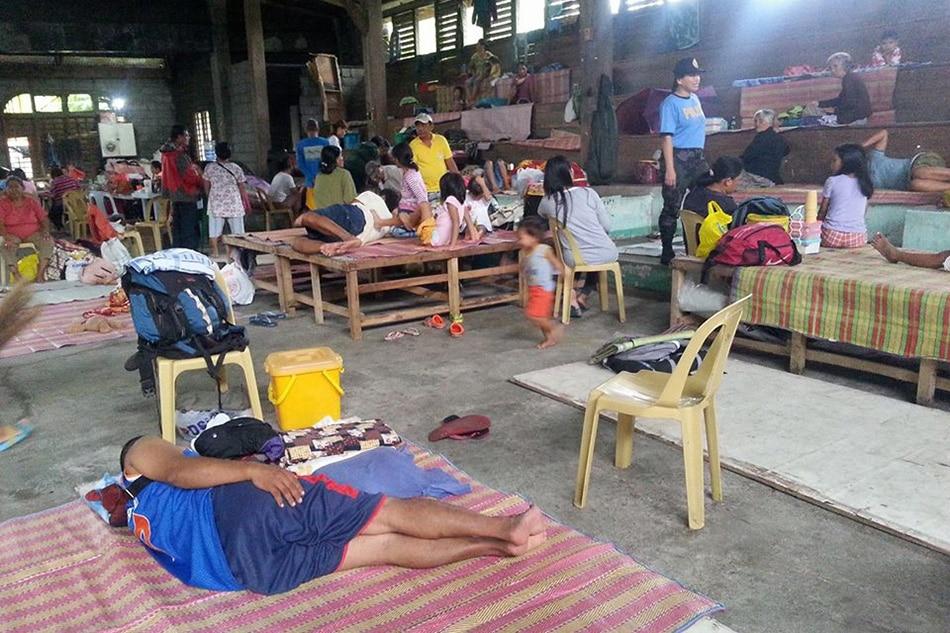 Forced evacuation ipinatupad sa Agusan del Norte 1
