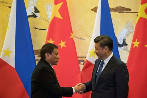 Duterte, Xi Jinping engage in 'frank' talks on South China Sea, North Korea