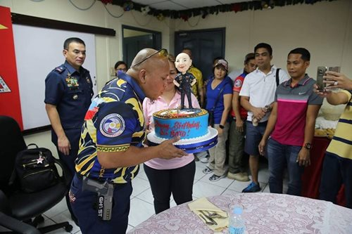 On his birthday, 'Bato' wishes erring police would change their ways