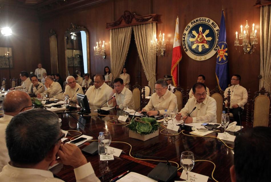 'Duterte Cabinet 80 pct complete'
