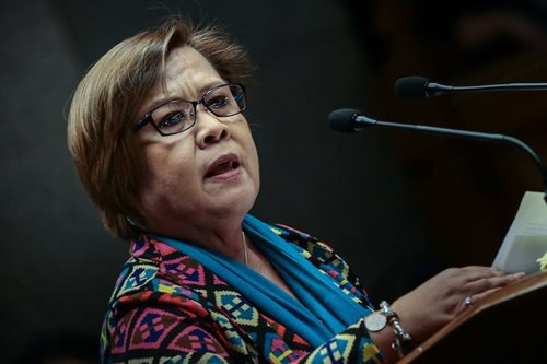Court moves De Lima's arraignment to May 18