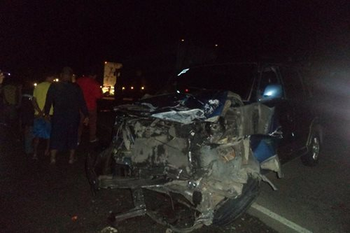 1 dead, 3 injured after SUV hit truck in Butuan City
