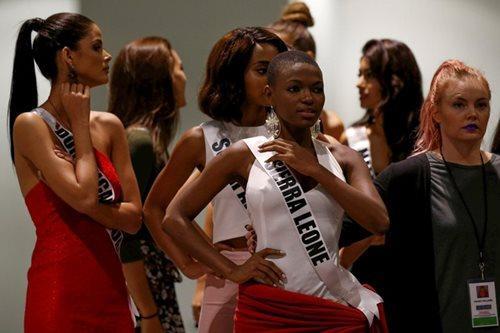 SILIPIN: Rehearsal ng mga kandidata sa Miss Universe