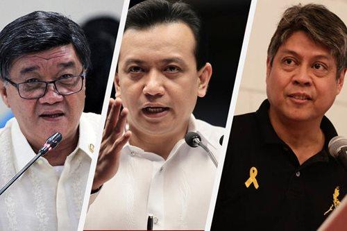 Trillanes, Pangilinan out to link me to BI bribe scandal: Aguirre