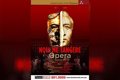 60 years on, 'Noli Me Tangere, The Opera' returns onstage