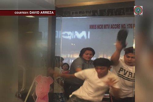Fast food joint sa Bulacan, binulabog ng bugbugan ng mga lalaki