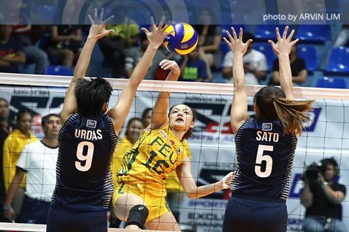 UAAP VOLLEYBALL: Lady Tams gore Lady Bulldogs for second win in a row