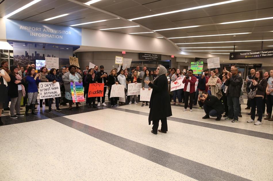 Malacañang respects Trump's immigration ban 1