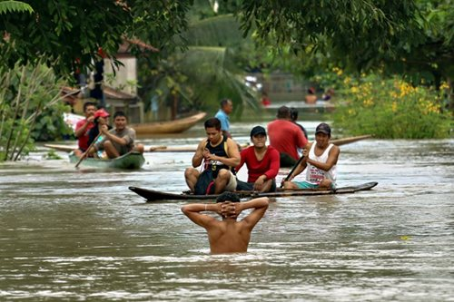 At least 3,000 families evacuated in Butuan City due to floods