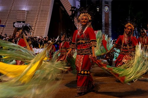 LOOK: Kadayawan dancers join Chinese New Year parade in HK