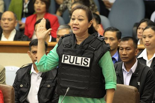 Janet Napoles placed under witness protection