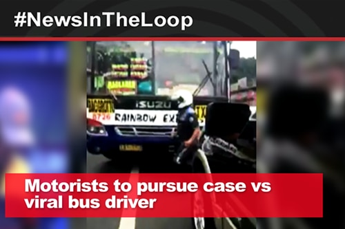 In the loop: Motorist to pursue case vs viral bus driver