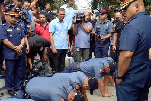 'Bato' scored for publicly humiliating 'hulidap' cops