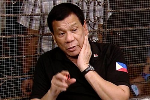 Duterte suspends peace talks with Reds