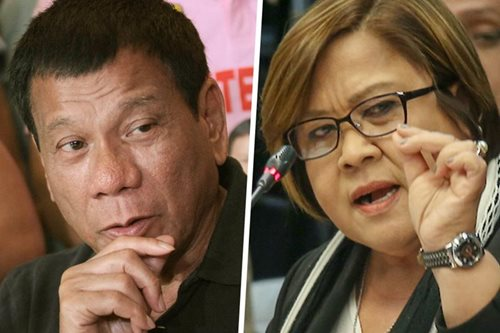 Prisoner of conscience? Duterte hits De Lima anew