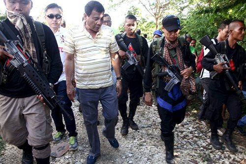 Duterte: Countryside infested with NPA 'parasites'