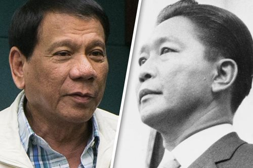 Duterte defends proclaiming Marcos' birthday a holiday