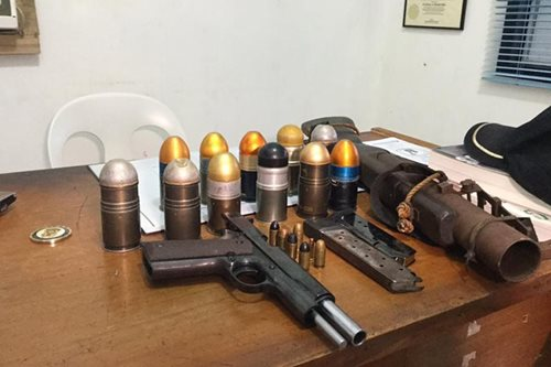 Barangay officials arrested for guns, explosives in Cagayan de Oro